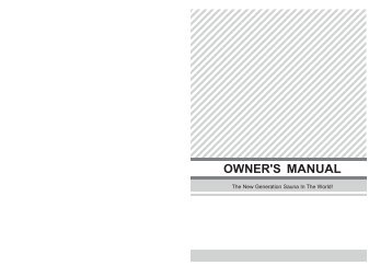 Rainbow 300 Off Line Chlorinator Owner's Manual