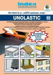 Guida alla posa dell' UNOLASTIC - Index S.p.A.