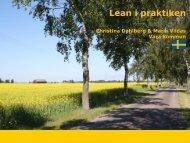 Lean thinking in real life - Vara kommun
