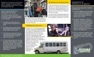 program brochure - Lane Transit District