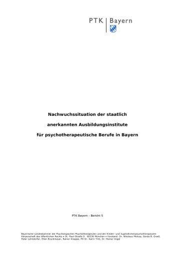 Bericht 5 - PTK Bayern