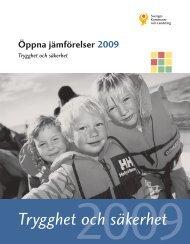 Öppna jämförelser Trygghet och säkerhet 2009 - Webbutik