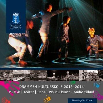 Brosjyre 2013/2014 - Drammen kommune