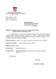 9. Prijedlog odluke o izmjenama i dopunama Proračuna Splitsko ...