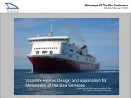 Visentini RoPax Design and application for Motorways of ... - Sutranet