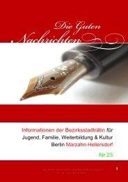 Nr. 23 vom 20.10.2012 - Die guten Nachrichten aus Marzahn ...
