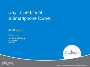 Day in the Life of a Smartphone Owner