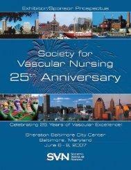 07Prospectus_SVN .pdf - Society for Vascular Nursing