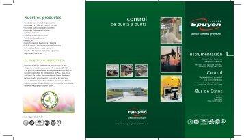 Nuestros productos control - Cables Epuyen SRL