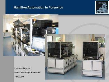 Hamilton Automation in Forensics - Hamilton Robotics