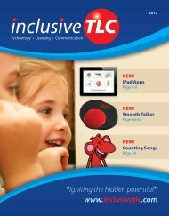 NEW! iPad Apps - Inclusive TLC