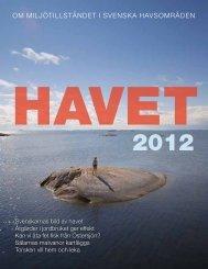 Havet 2012 - Havs- och vattenmyndigheten