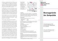 Download Flyer - Deutsche Gesellschaft für Zeitpolitik