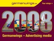 Germanwings – Advertising media