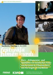 Kurz- , Dokumentar- und Spielfilme von kurdischen Filme - Reitschule