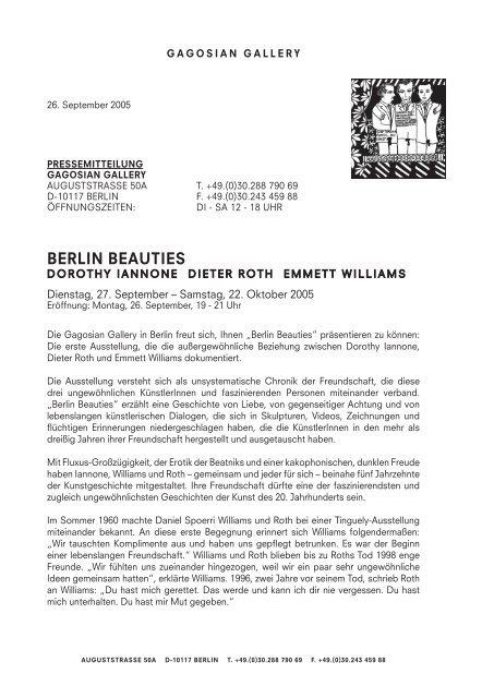 berlin beauties - 4. Berlin Biennale