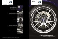 The M3 Competition Package - Клуб владельцев BMW M Power