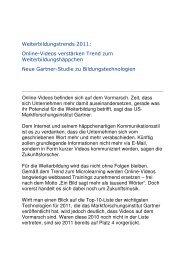 Gartner News 2011 - Uhlberg Advisory GmbH