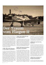 Der Traum vom Fliegen II