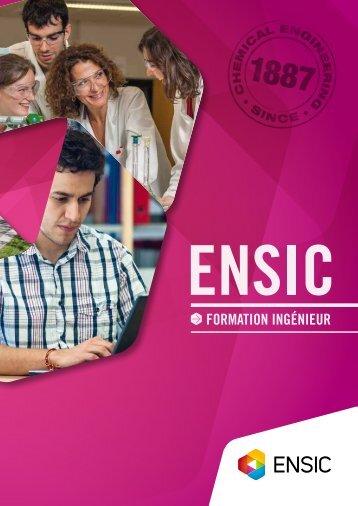 Formation inGÉniEUr - ENSIC - Université de Lorraine