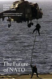 The Future of NATO - Council on Foreign Relations