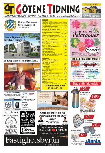 Vecka 16 - Götene Tidning
