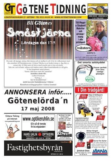 Vecka 19 - Götene Tidning