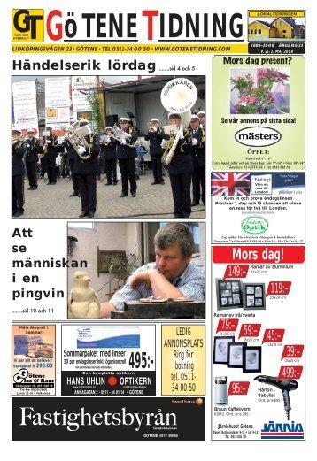 Vecka 21 - Götene Tidning