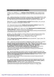 Bibliografia sobre licenciamento ambiental - Fernando Santiago dos ...
