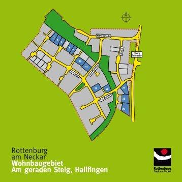 am geraden steig - Wir bauen auf Rottenburg
