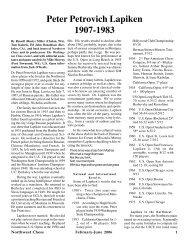 Peter Petrovich Lapiken 1907-1983 - Northwest Chess!