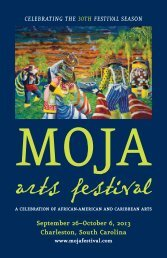 2004 MOJA Program Book - Moja Arts Festival