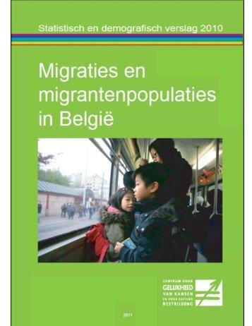 Statistisch en demografisch verslag 2010 - Centrum voor gelijkheid ...