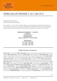 Pressetext Vienna Gallery Weekend 2013 - Ana Berlin ...