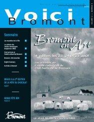 VOICI juin 2002 - Ville de Bromont