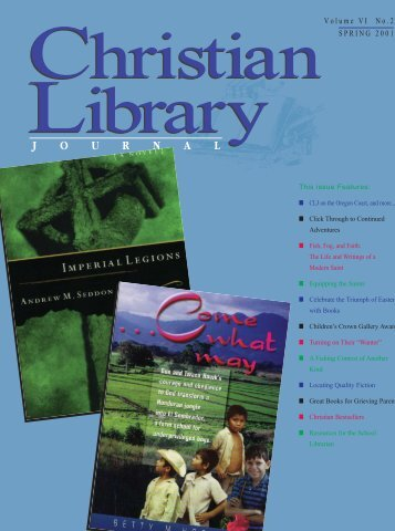 PDF - Christian Library Journal