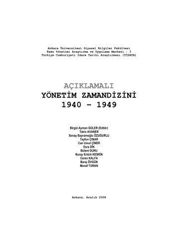 """1942: """"A'dan 'Z'ye Bozuk Devlet""""in Yeniden Yapılanması"""