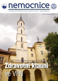 Číslo 3 - Všeobecná fakultní nemocnice v Praze