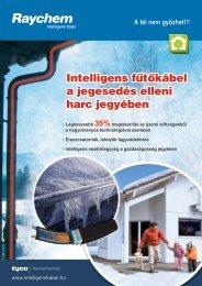 Intelligens fűtőkábel a jegesedés elleni harc jegyében