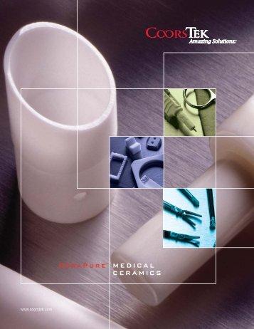 CeraPure™ Medical Ceramic Products - CoorsTek