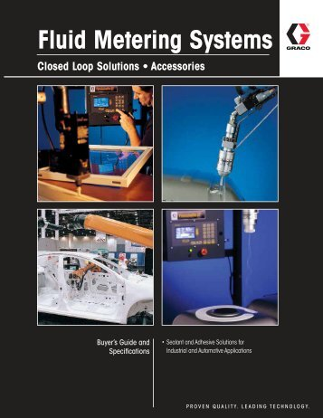 Fluid Metering Systems - CH Reed Inc.