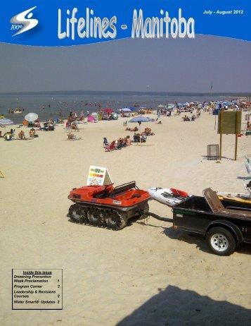 July - August 2012 - Lifesaving Society - Manitoba Branch