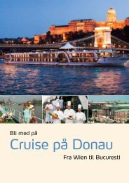 Cruise på Donau - Unik Travel