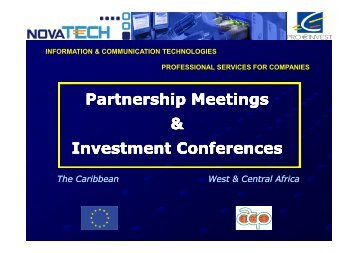 ICT Investment Conference - Jean Marie Blanchard - Economisti ...