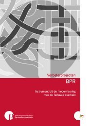 Brochure BPR N - Fedweb - Federale Portaalsite