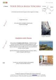 TOUR DELLA BASSA TOSCANA - Try Nature