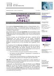 Allgemeine Presseinformationen - Stiftung Brandenburger Tor