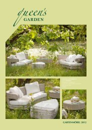 Gartenmöbel 2012