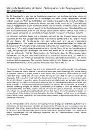 Warum die Goldinitiative wichtig ist - Stellungname zu den Gegenargumenten der Goldinitiative - Artikel von Oliver Steiner