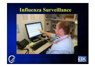 Surveillance for Human and Avian Influenza in International Settings